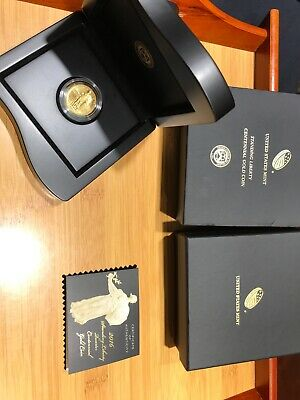 United States Mint Standing Liberty Gold Coin 1/4 Ounce Gold Rare With Box COA