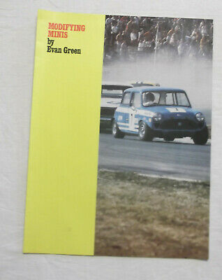 Modifying Minis by Evan Green Insert Brochure removed from a magazine Mini BMC