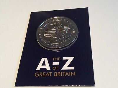 AZ ALPHABET 10p COLLECTION COMPLETERS MEDAL