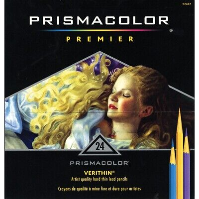 Prismacolor Verithin Colored Pencils 24 Color Set  - 24-Color Set