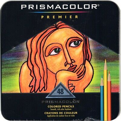 Prismacolor Premier Colored Pencils 48-Color Set  - 48-Color Set
