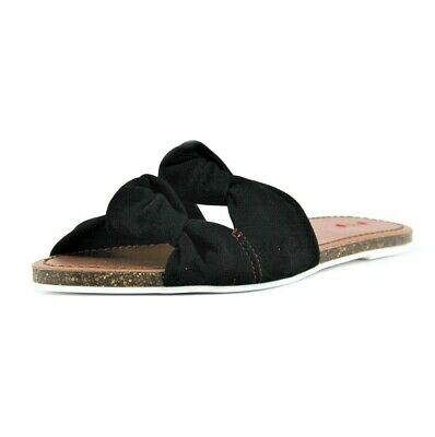 NEW! ED Ellen DeGeneres Shiri Black Slides Sandals Size 7