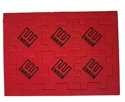 SUPER RARE Authentic Original ENRON Schwag Foam Puzzle Swag