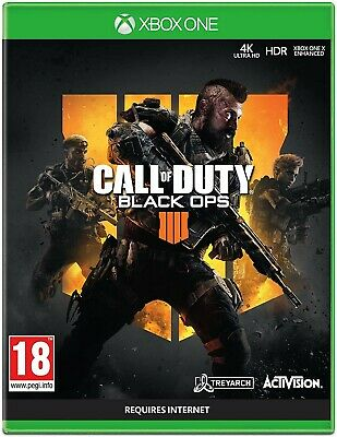Call Of Duty Black Ops 4 xbox one full game offline only. (No cd/No key)