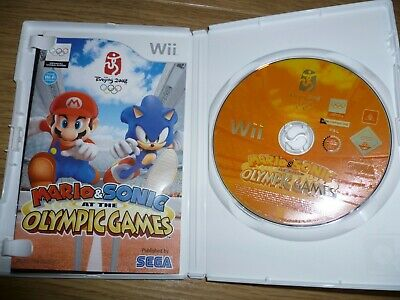 MARIO & SONIC AT THE OLYMPIC GAMES (Beijing 2008) Nintendo Wii Game