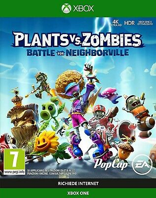 Plants vs Zombies Battle of Neighborville xbox one offline only. (No CD/No key)