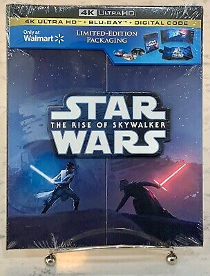 Star Wars THE RISE OF SKYWALKER 4K UltraHD + Blu-Ray + Digital LE SEALED NEW!