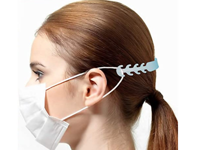 (5, 10, 20, 40 Pack) Ear Saver / Comfort Strap Extending Adapters for Face Masks