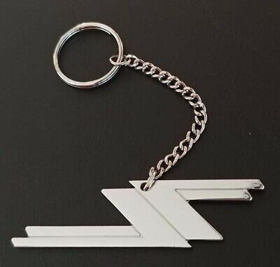 Zz Top Video Key Ring Key Chain Llavero Porte Cles Chrome Silver Long Keychain #