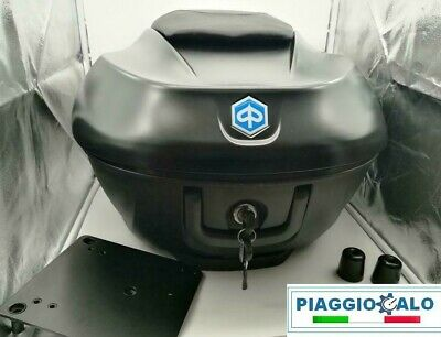 Bauletto 36 Lt Nero Opaco 93B Originale Piaggio Beverly Ie Sport Touring 300