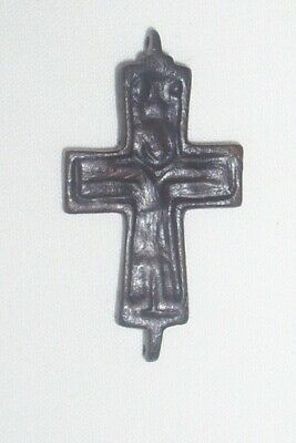 Medieval Byzantine  bronze cross  10th-12th century AD  (b)