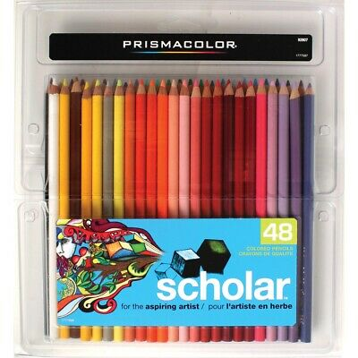 Prismacolor Scholar Colored Pencils 48-Color Set  - 48-Color Set