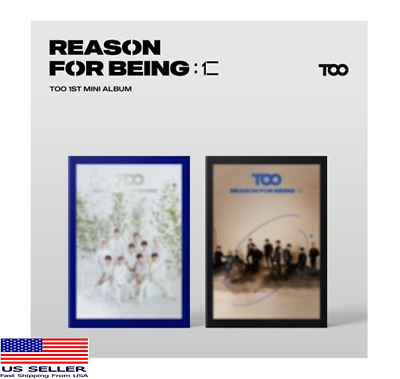 [US SHIPPING] TOO-[Reason For Being]1st Mini Album (KpopMusicDepot)