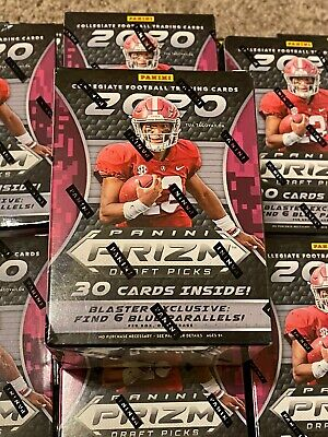 2020 Panini Prizm Collegiate Draft Picks Football Blaster Box Brand NEW SEALED