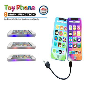 Kids Simulator Music Toy Touch Screen Cell Phone Educational Learning Child Gift