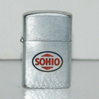 Vintage 1950s Gas and Oil Advertising Lighter - SOHIO - Standard Oil of Ohio