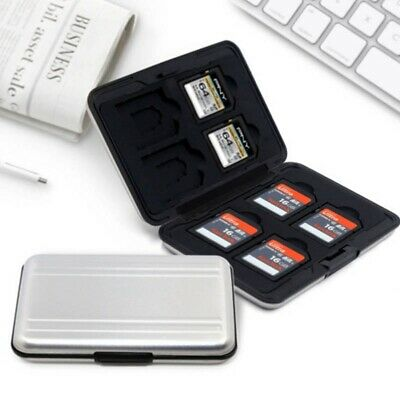 10pc Ultra-thin hard micro sd sdhc tf ms memory card storage box protector case