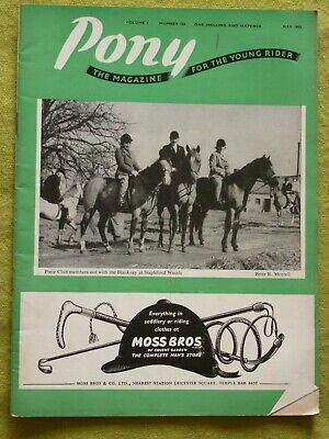 Pony / May 1958 / Ponies And Riders, Show Ponies And Show Jumpers