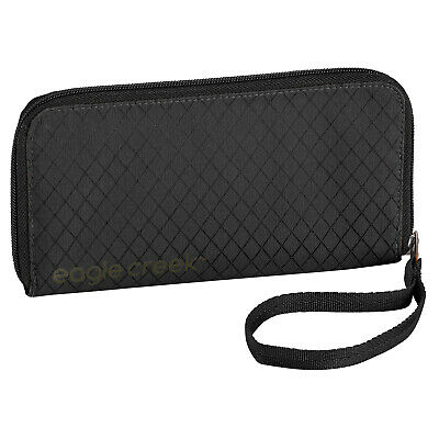 Eagle Creek Rfid Wristlet Unisex Wallet/purse Wallet - Jet Black One Size