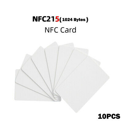 Waterproof NFC Card NTAG215 Tags RFID Cards Contactless Access Control Check^^