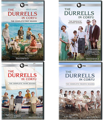 The Durrells In Corfu : Complete Series Seasons 1-4 ( DVD, Region 1 ) Collection