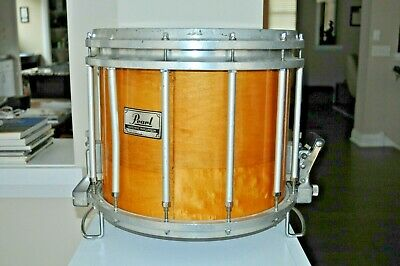 "Pearl 14x12"" Free Floating Marching Snare Lacquer Wood"