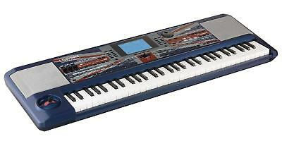 B-Ware Korg pro Liverpool Professional Arranger Keyboard 100 Beatles Songs blau
