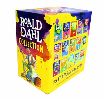 Roald Dahl 15 Books Box Set Collection|NEW|GIFT WRAPPING FREE