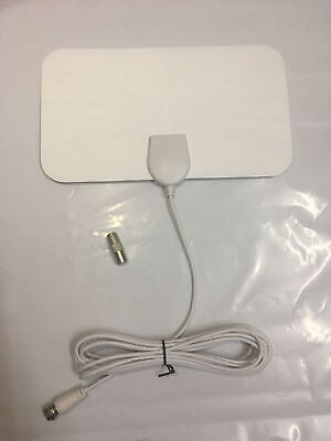 Fast Ship Thin Freeview Indoor Amplified Digital TV Aerial HDTV Antenna 50 Mile