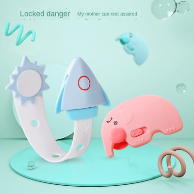 Baby Kids Safety Care Plastic Locks Toilet Drawer Cabinet Lock Straps Protection