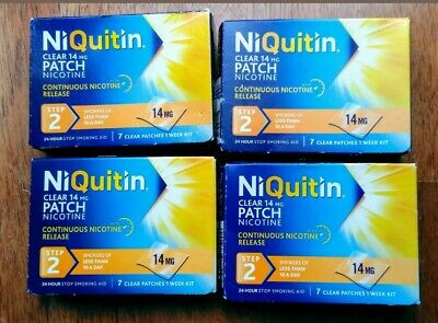 niquitin Patches Step 2 14mg x 28 Patches Only £39.99          #48 hour delivery