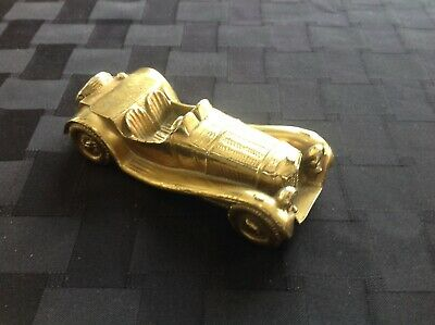 Brass Paperweight Roadster