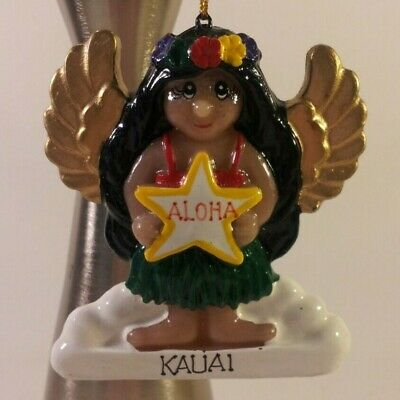 Hawaiian Angel Handmade Christmas Ornament from Hawaii