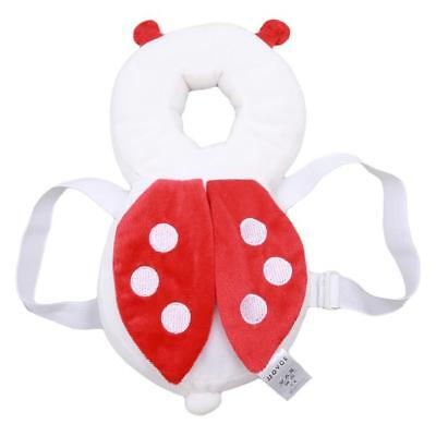 Cute Baby Headrest Pillow 1Pc Useful Safety Protection Wings Cartoon Head Pad DS