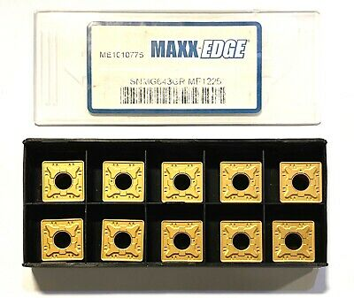 Maxx-Edge Carbide Turning Inserts SNMG 643-GR Grade ME1135 Coated Inserts 10PK
