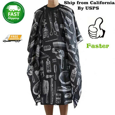 Hair Cutting Cape Hairdressing Pro Salon Hairdresser Gown Barber Cloth Apron CA