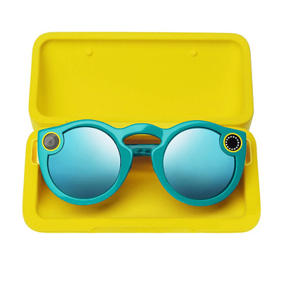 Snap Inc. Spectacles Snapchat Camera Sunglasses *Teal* New! Fast Free Shipping!