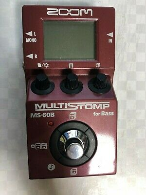 Zoom MS-60B Multi-Effects Guitar Effect Pedal  FREE SHIPPING