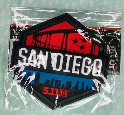 5.11 Tactical San Diego Limited Edition morale patch 511