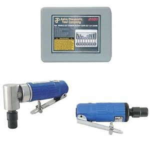 Astro Pneumatic 1221 Die Grinder Combo Kit With Burrs NEW!