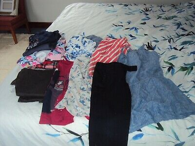 Bundle girls clothes 14 Items Aged 10 yrs Fat Face, next M&S
