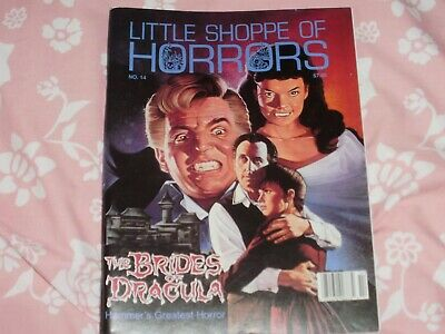 Little Shoppe Of Horrors # 14 Dec 1999 The Brides Of Dracula Fine Condition