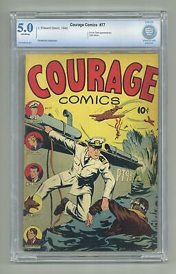 Courage Comics #77 CBCS 5.0 1945