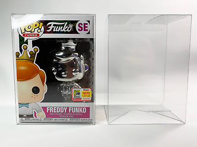 """Extra Thick Heavy Duty Clear Plastic Protector Case for Funko Pop 4"""" Vinyl .50mm"""