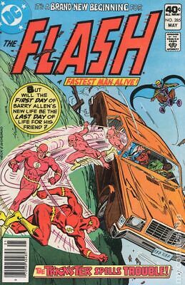Flash #302 VG 1981 Stock Image Low Grade