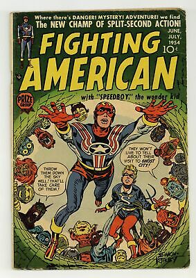 Fighting American #2 VG 4.0 1954
