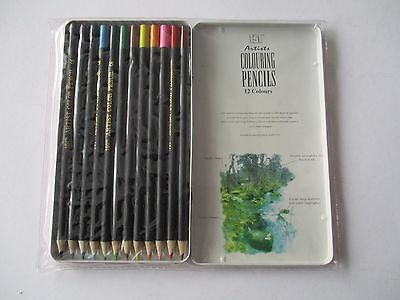 151 Series 12 Artists Colouring Pencils - Brand New And Sealed
