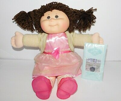 Slightly Damaged Box Cabbage Patch Kids Doll 2017 Holiday Edition Brown Hair