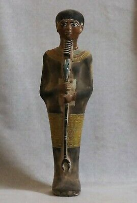 RARE EGYPT EGYPTIAN ANTIQUES STATUE God PTAH Large Carved STONE 1860 BC