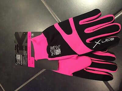 karrimor Xlite Running Gloves Pink Large new